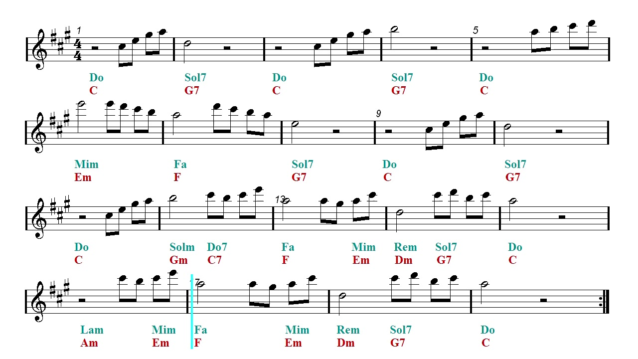 beauty and the beast chords # 7