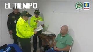 El momento en el que capturan a los primeros implicados en el caso del 'Narcojet'. | EL TIEMPO