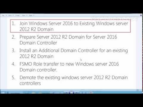 2. Join Windows Server 2016 To Existing Windows Server 2012 R2 Domain