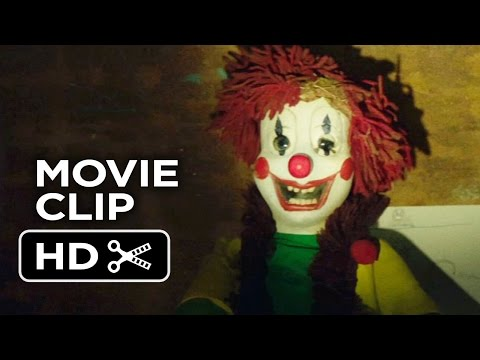 Poltergeist Movie CLIP - Clown Attack (2015) - Sam Rockwell, Rosemarie DeWitt Movie HD