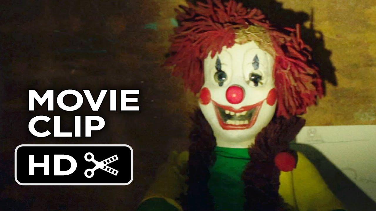 Poltergeist Movie Clip - Clown Attack 2015 - Sam -8413