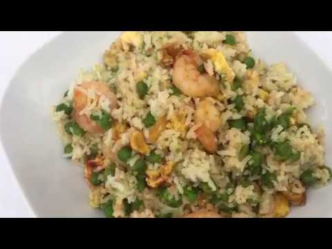 King Prawn Egg Fried Rice-Slimming World Syn Free