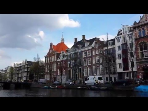 Nice canals & nice houses from amsterdam netherland