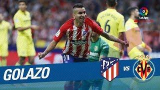 Golazo de Correa (1-0) Atlético de Madrid vs Villarreal CF