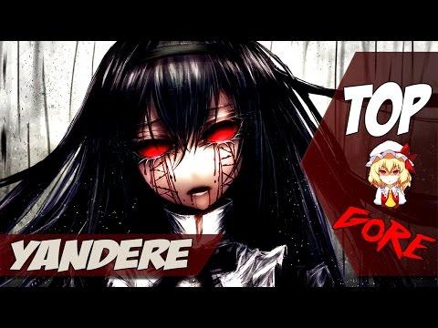 las 5 yanderes mas locas del anime ! | Top 5  Yanderes |  En Español