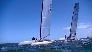 Aclass Australian Nats 2015  @Lake Cootharaba Sailing Club