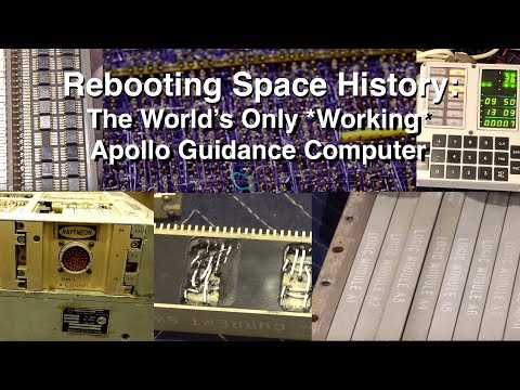 Rebooting a 50 Year Old Computer – Making The Apollo Guidance Computer Work Again