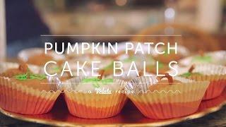 Pumpkin Patch Cake Balls - October 2014 Velata Recipe Of The Month
