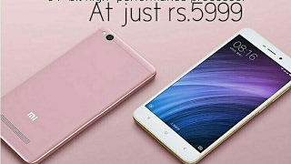 Redmi4A --Budget mobile at RS.5999