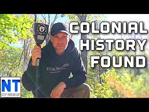 Colonial History Found In New Hampshire - Metal Detecting