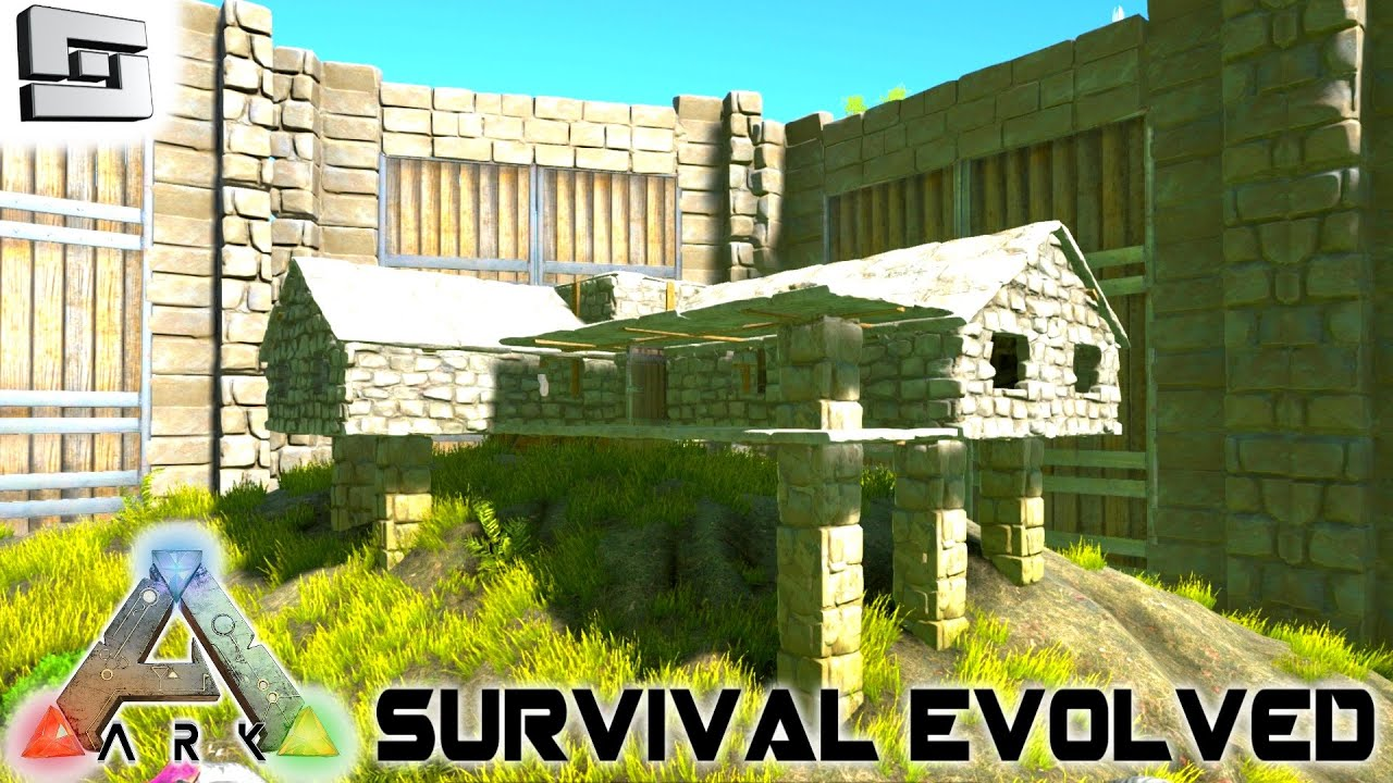 Ark Survival Evolved House Building S2e7 Gameplay