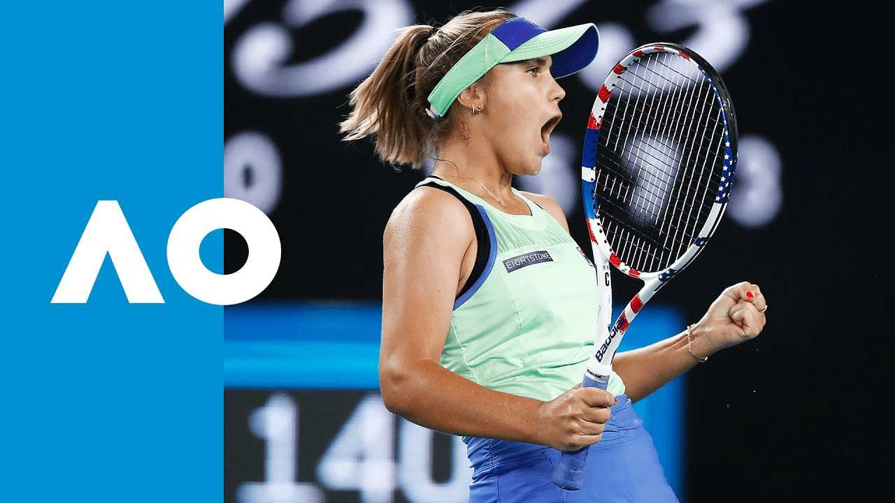 Shuai Zhang vs Sofia Kenin - Match Highlights (3R) | Australian Open 2020