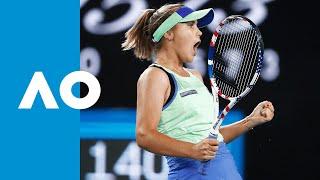 Shuai Zhang vs Sofia Kenin - Match Highlights (3R) | Australian Open 2020