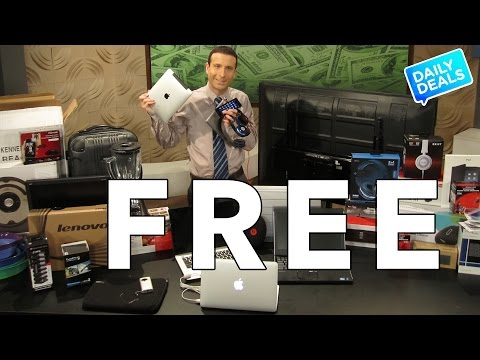 Free iPhone, Beats, iPad, Apple, Laptop, Tech Give Aways ► The Deal Guy