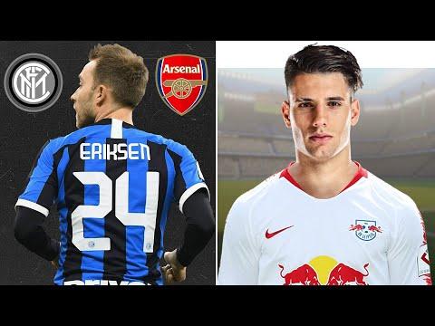 Новый ТАЛАНТ ПЕРЕХОДИТ В Лейпциг. Эриксен уходит в Арсенал.