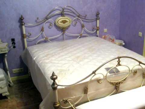 Кованая кровать, вариант дизайна, узнать цены