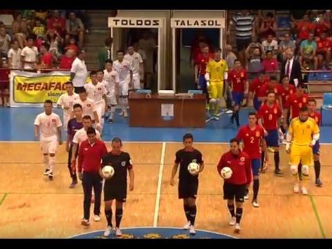 La selecci n espa ola de f tbol sala en talavera youtube for Federacion espanola de futbol sala