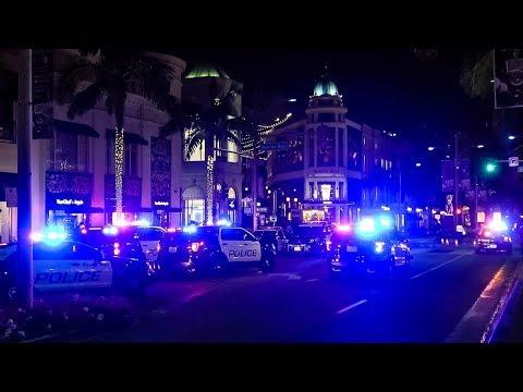 GUNS DRAWN, MAYHEM ENSUES...Beverly Hills Cops CRUSHES Supercar Meet