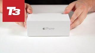 海外でいち早くアップされた、「iPhone 6、開封の儀」