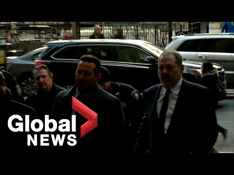 Harvey Weinstein makes court appearance in NYC