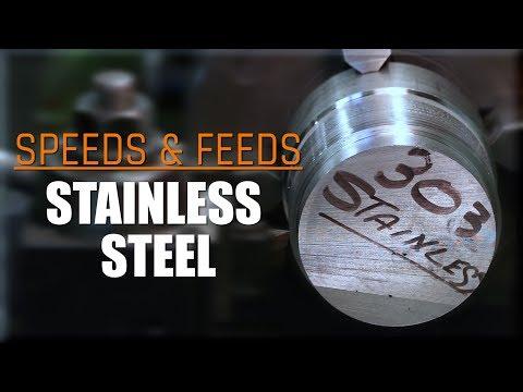 303 & 304 Stainless Steel Lathe Speeds & Feeds! WW204