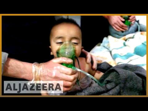 ☠️ Syria: Chemical attack suspected in Eastern Ghouta siege