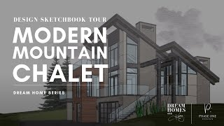 MODERN MOUNTAIN HOME | Modern Chalet LUXURY HOME DESIGN | Custom Home Tour | Vancouver | Calgary