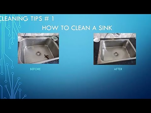 How to Clean A Sink in Tamil   Cleaning Tips # 1    Maheswaran Karupppiah