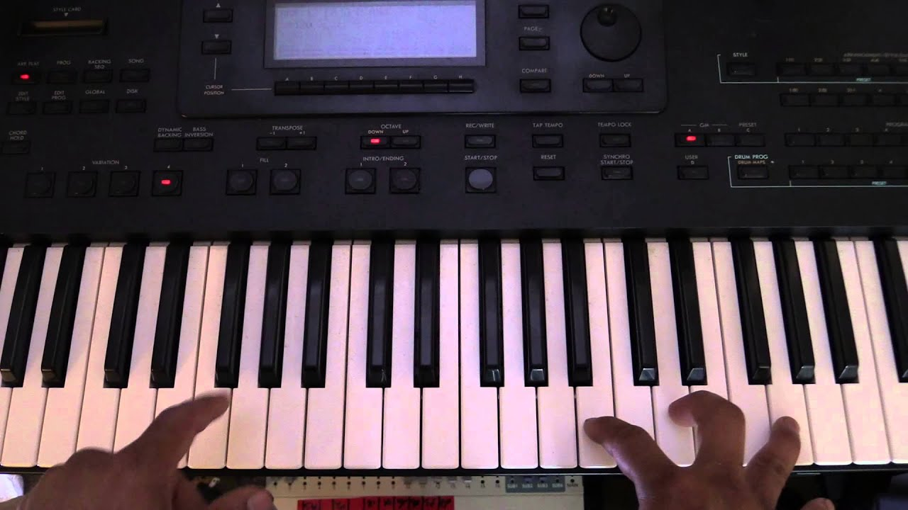 Melodia desencadenada, acordes. Unchained melody piano