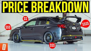 How Much Did the ULTIMATE Subaru WRX STI Cost to Build?