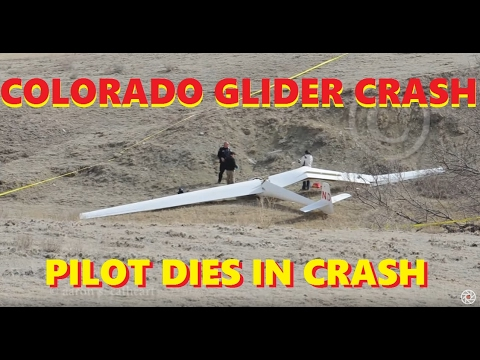 Glider Crash: Wellington Colorado (Fatal)