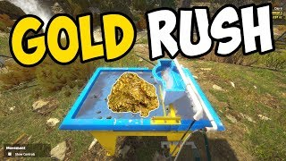 WAVE TABLE GOLD SEPARATOR!! - Gold Rush: The Game Gameplay - Episode 3