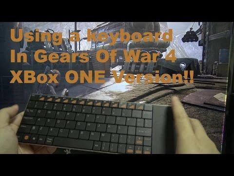 Using A Keyboard In XB1 Version Of Gears Of War 4!
