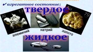 Простые вещества   металлы