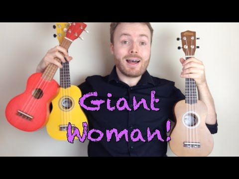 Giant Woman - Steven Universe (Ukulele Tutorial)