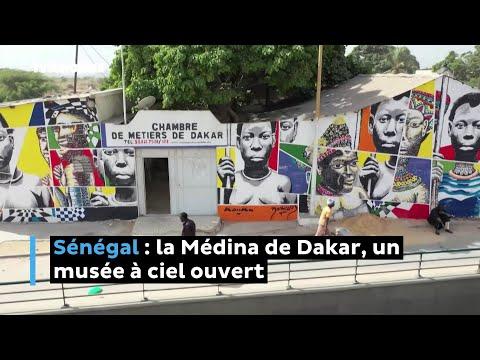 Sénégal : la Médina de Dakar, un musée à ciel ouvert
