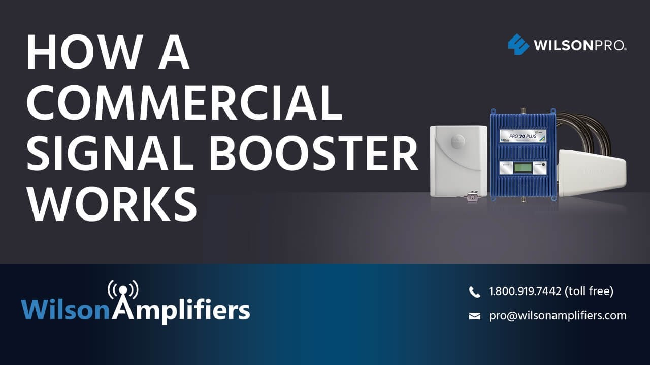 How a Commercial Signal Booster System Works