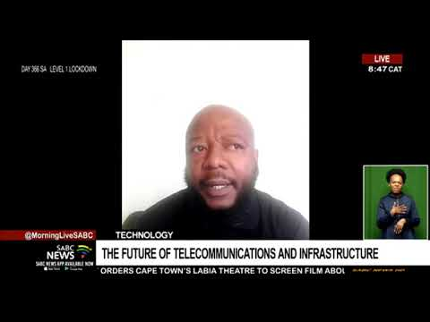 Dakalo Raphanga highlights the future of telecommunications and infrastructure