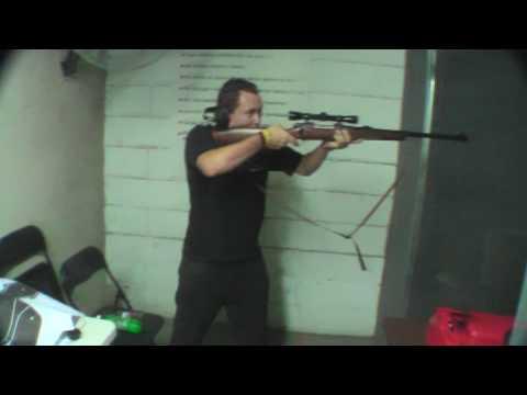 458 Winchester Magnum disparando Harold del Hispano