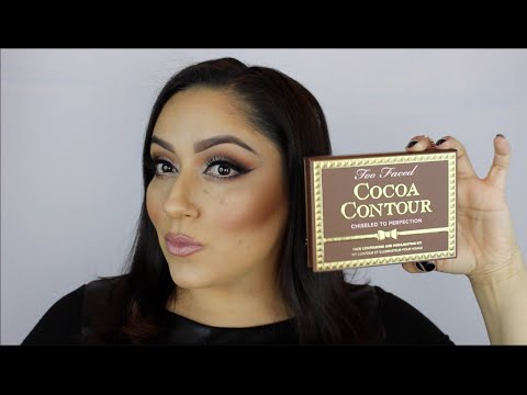 TOO FACED Cocoa Contour : HOW-TO, REVIEW, SWATCHES thumbnail