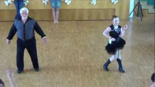 Klaus Zimmermann & Lena Keil & Bianca Grombach Cha Cha Cha @World of Dance 2012