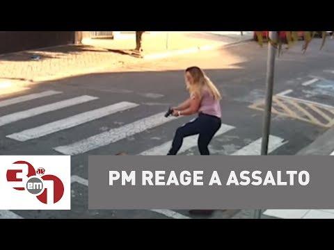 PM Reage A Assalto E Mata Ladrão Em Suzano