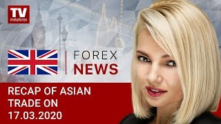 InstaForex tv news: 17.03.2020: Wall Street endures worst day since 1987: outlook for USD/JPY, AUD/USD