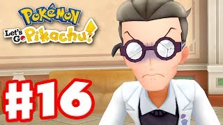 Pokemon Mansion! - Pokemon Let's Go Pikachu and Eevee - Gameplay Walkthrough Part 16