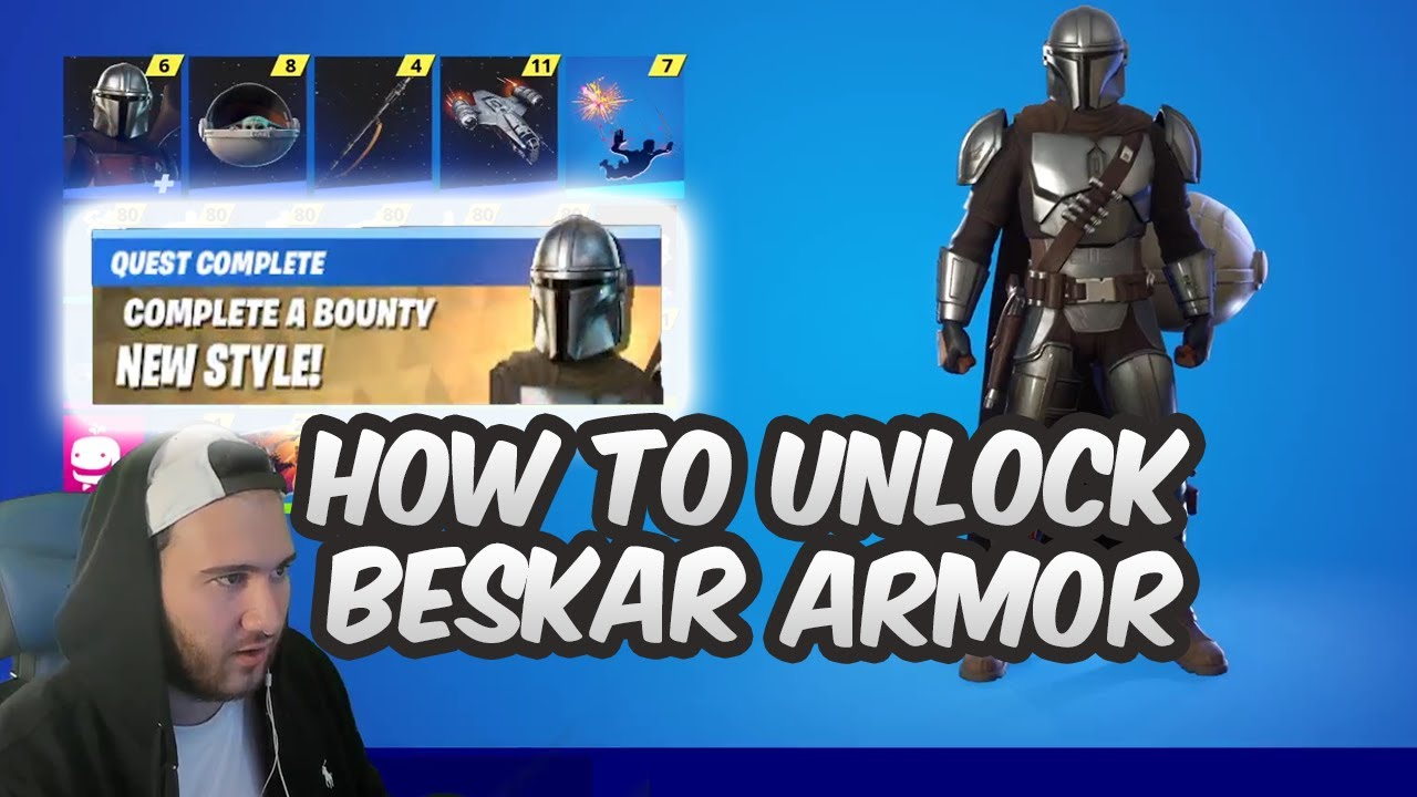Download Fortnite How To Unlock The Mandalorian Beskar Armor Challenges