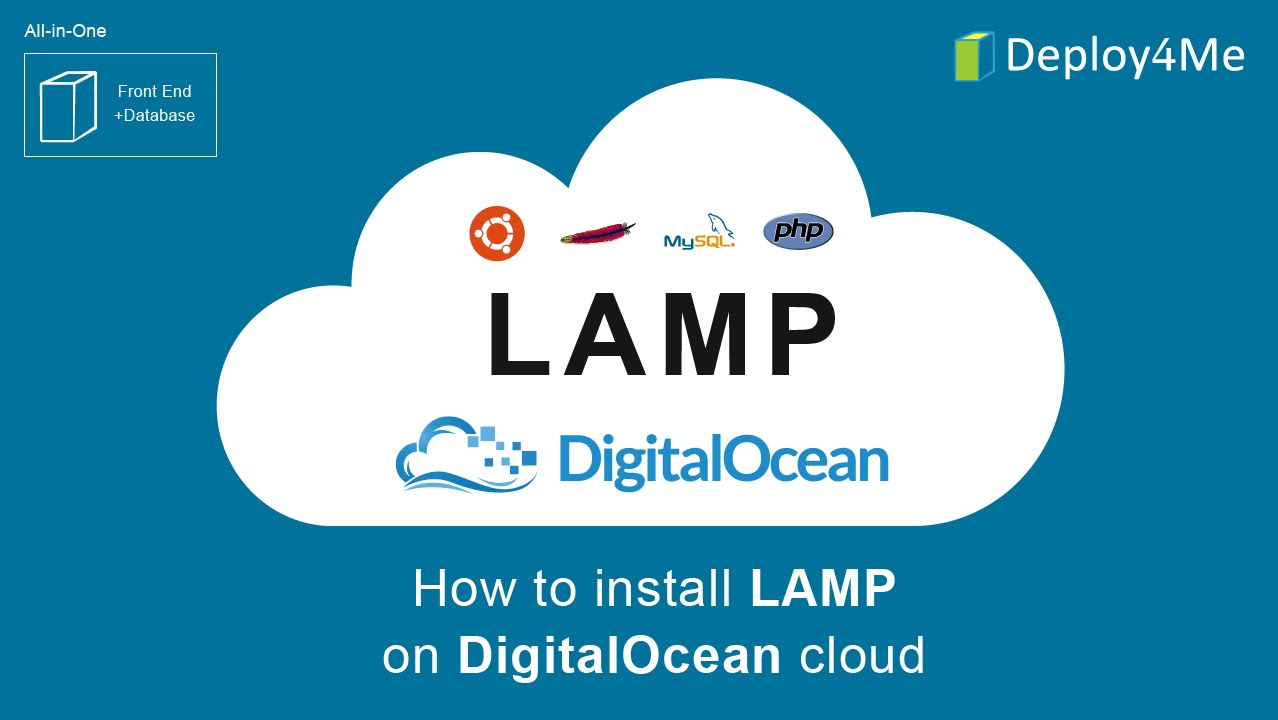 How To Install LAMP Stack On DigitalOcean Cloud Via Deploy4Me