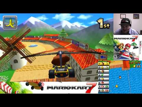 Mario Kart 7 - Nintendo 2DS 3DS | VGHI Play 'n' Chat Live Stream