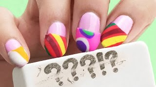 ERASE WITH YOUR NAILS! ✰ DIY