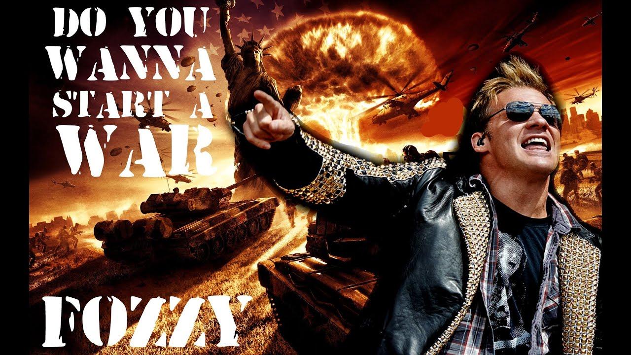 Do You Wanna Start A War Testo - Fozzy