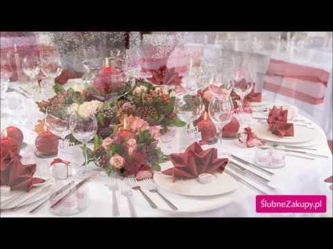 Jak udekorować stół na wesele? 45 przykładów dekoracji stołu weselnego
